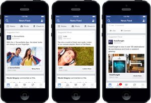 link your mobile Facebook App within its own phone app