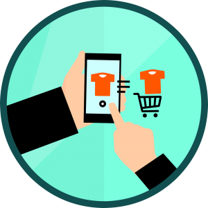 Your business can have a mobile shopping cart in your own App where your customer can easily purchase your good or services.